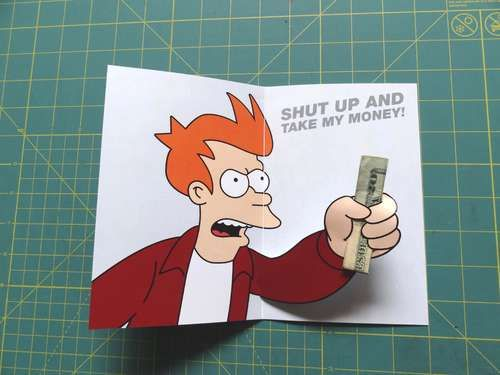 Futurama Meme Gift Card Lol Futurama Futurama Meme Cards