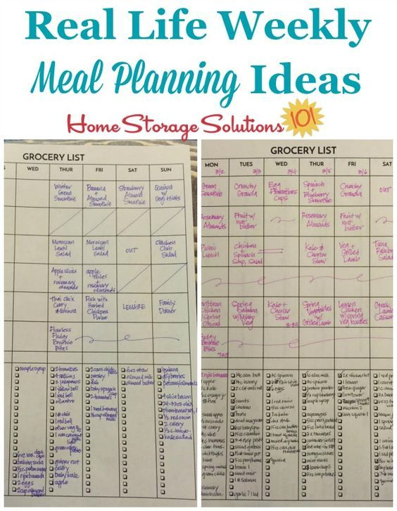 Weekly Meal Planner Hall Of Fame Ways To Plan Family Meals Weekly Meal Planner Meals For The Week Meal Planning