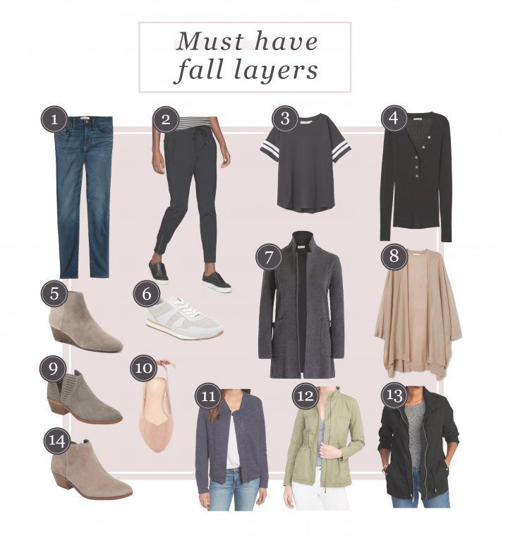 Must Have Fall Layers is part of Layering Clothes Fall - one, two, three, four, five, six, seven, eight, nine, ten, eleven, twelve, thirteen, fourteen One of the reasons I love Fall clothes so much is that I can still wear a good deal of my Summer…