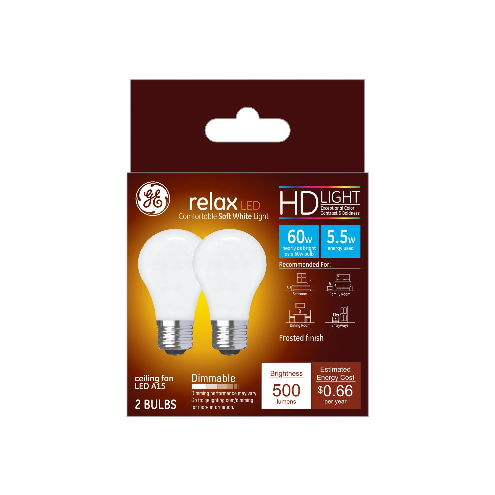 Light Bulb Led Sw A15 60w Cf White