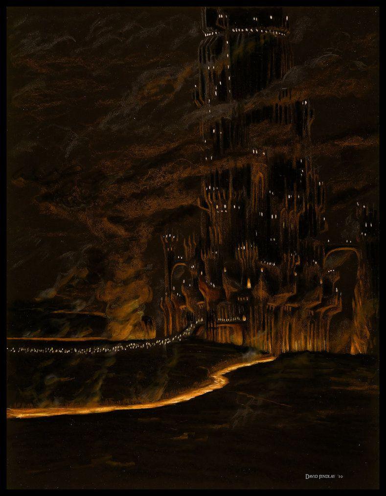 Barad dur on gorgoroth by ethalenskyeiantart on deviantart barad dur on gorgoroth publicscrutiny Image collections