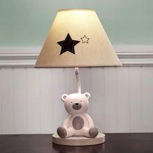 Baby Bear Lamp And Shade With Images Teddy Bear Nursery Decor