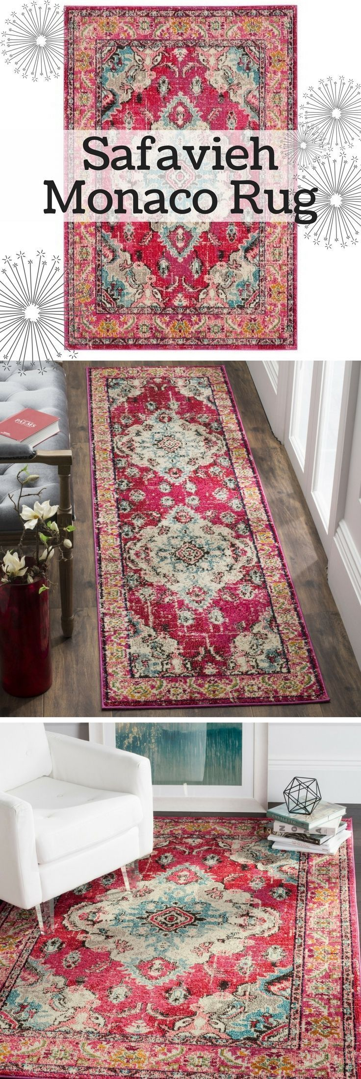 persian rug pink rug boho chic bohemian area rug modern classic transitional h on boho chic kitchen rugs id=52567