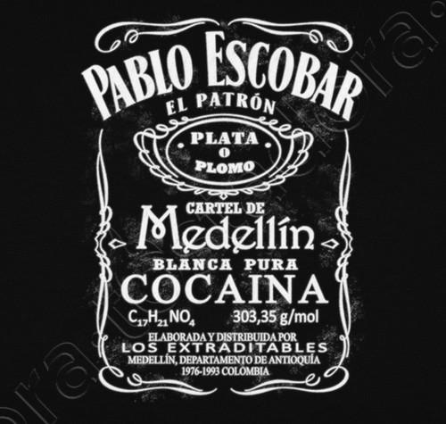 Camiseta pablo escobar n 1006068 camisetas - Pablo escobar zitate ...