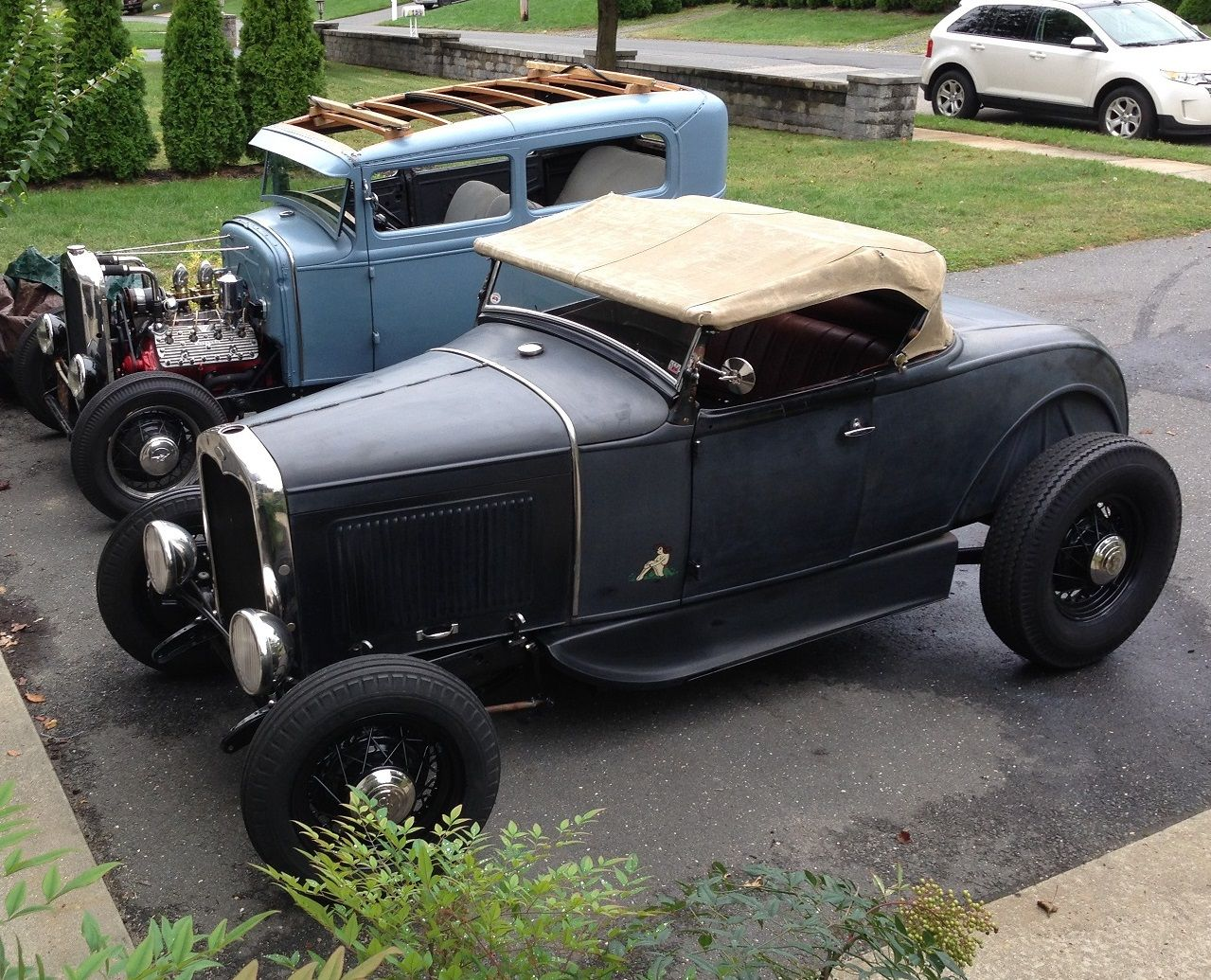 Features - Model A roadster highboys on Model A frames | Page 19 ...
