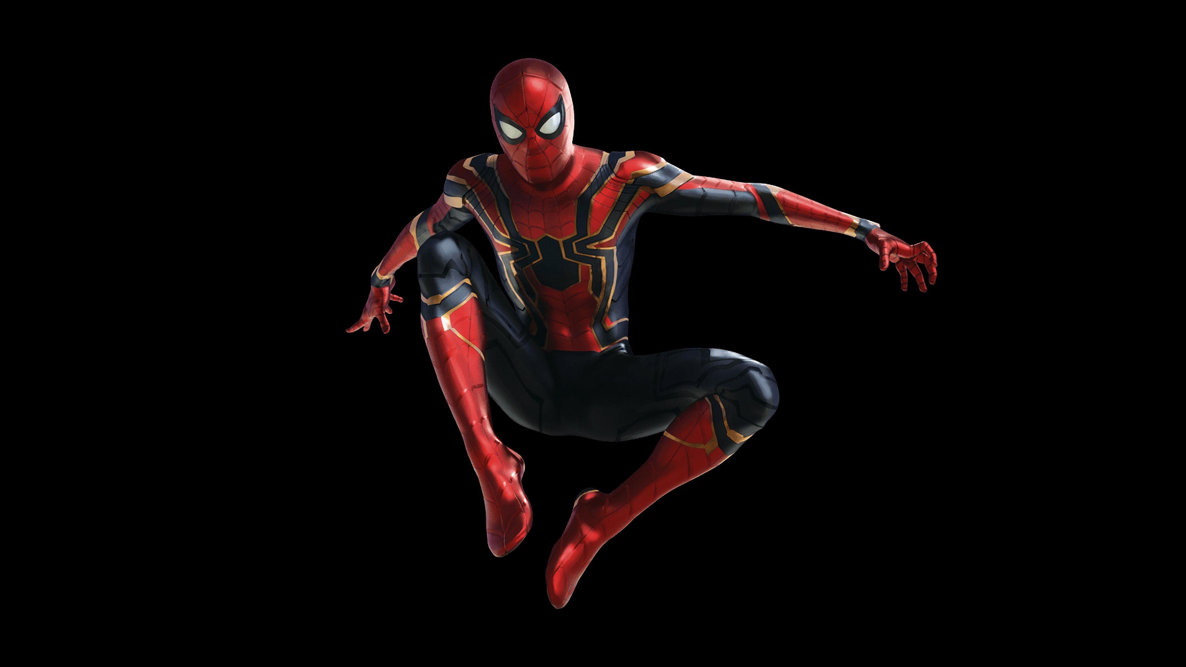 Spider Man Iron Spider Avengers Infinity War Movie 2018 3840x2160 Wallpaper Spiderman Spiderman Pictures Avengers Infinity War