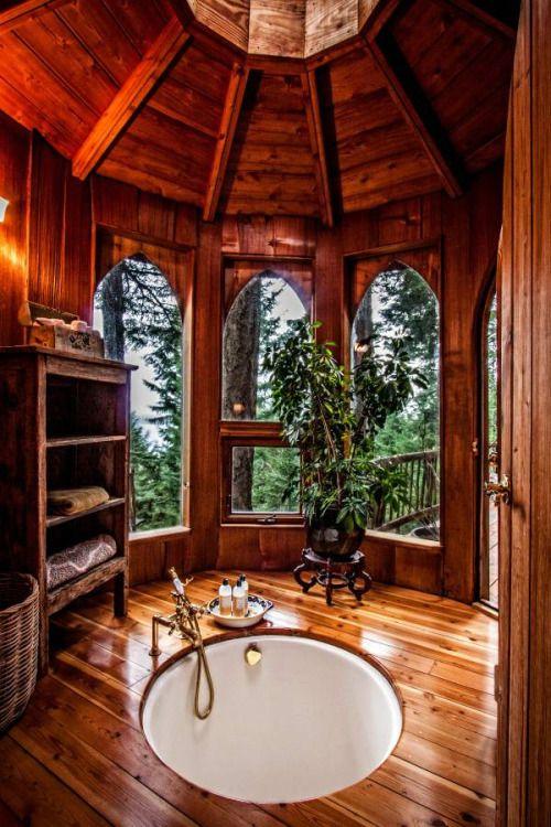 Forest Bathroom Decor