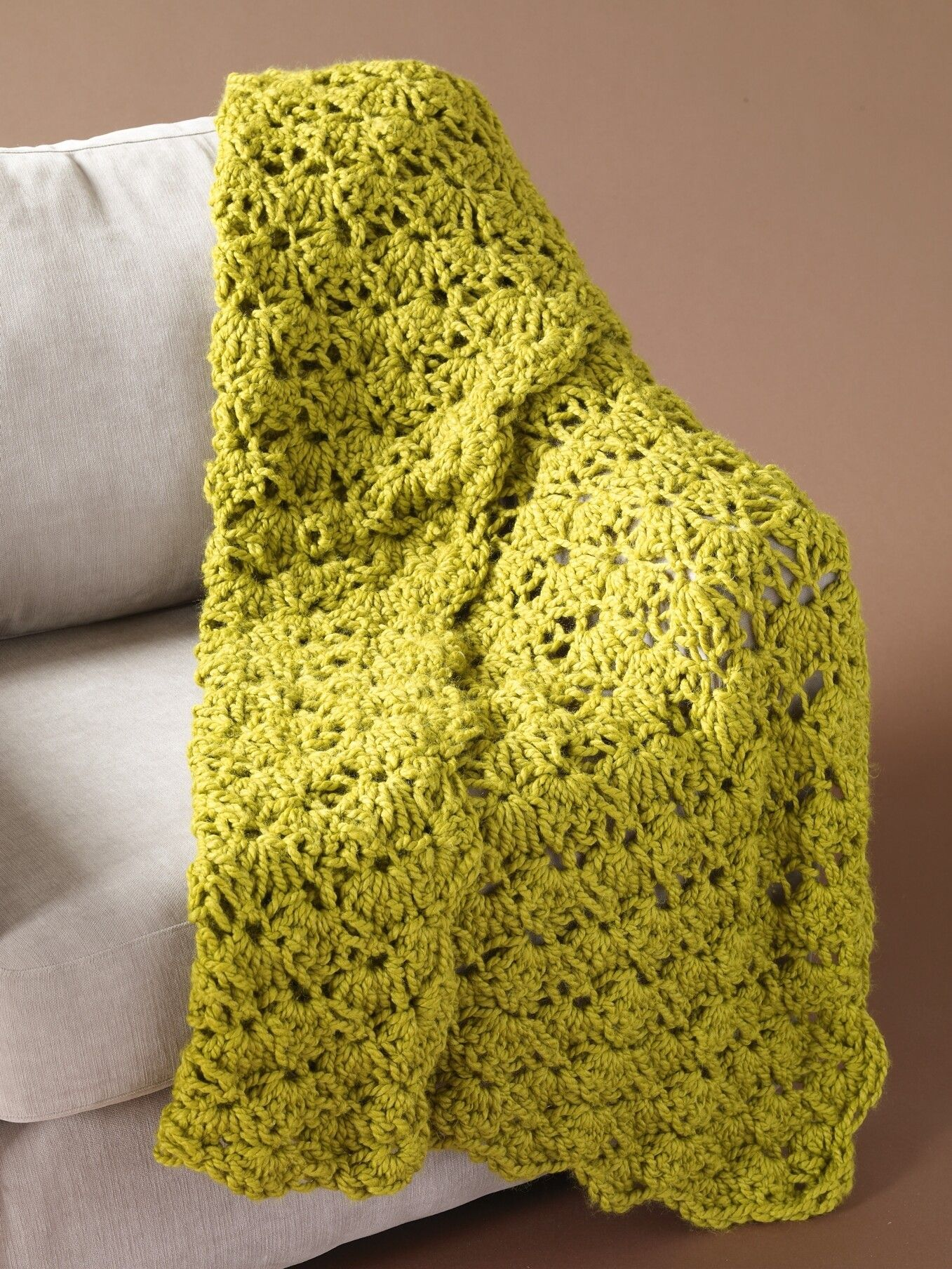 Speed Hook Shell Afghan Pattern (Crochet) | stitches | Pinterest