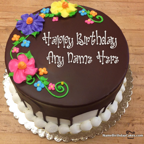 Birthday Cake Images Sonu : New Arrival Happy Birthday Chocolate Cake With Name ...
