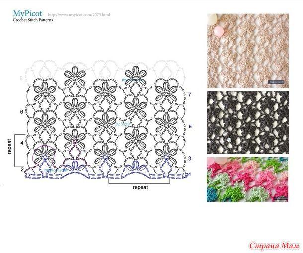 beside crochet: غرزات كروشية رائعة مع البترونات لازم تشوفيها.crochet stitshes