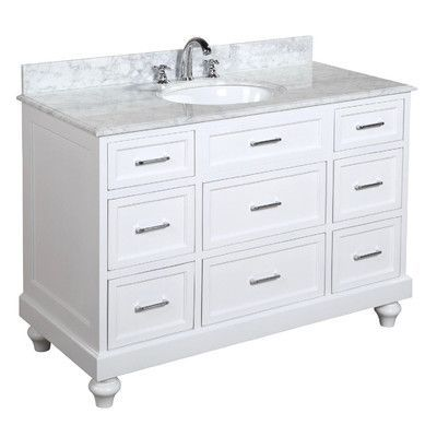 Charlton Home Seelinger 48 Single Bathroom Vanity Set Bathroom