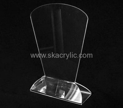 hot selling clear plastic sign holders clear sign holder sign holders for tables sh044