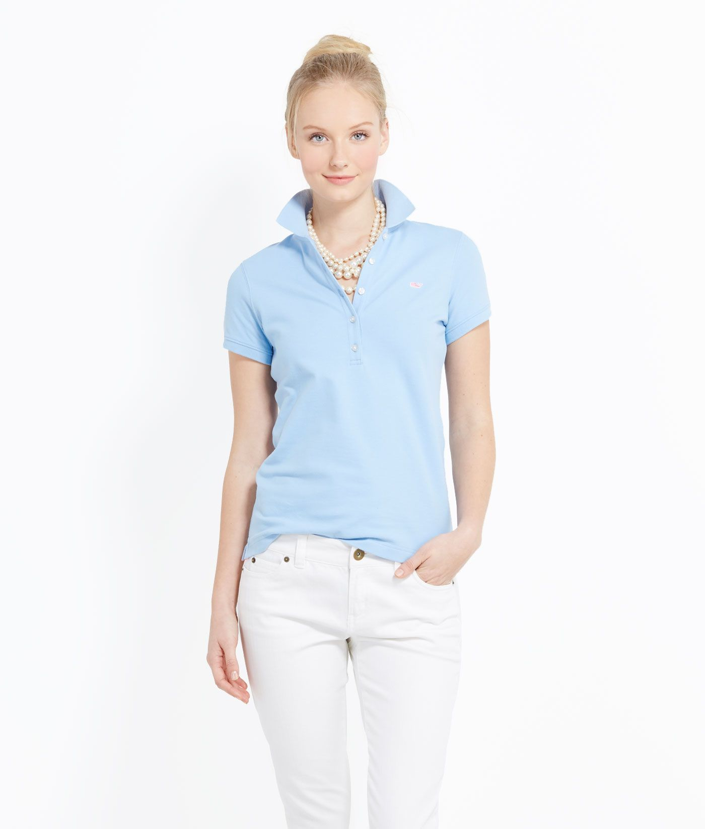 Womens Polo Shirts Shoreline Short Sleeve Polo For Women