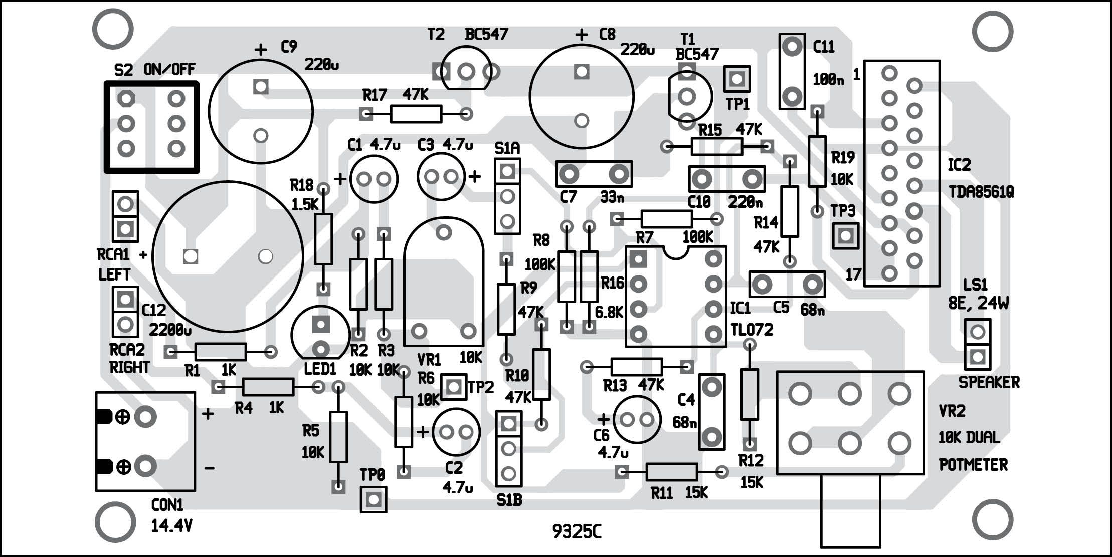 Jean Hiraga39s Le Monstre Monster Diy Classa 8w Amplifier Tube Otl Headphone Circuit Diagram Amplifiercircuit This System Needs To Be Attached An Existing Car Stereo Add Extra Boom Effect The Music It Has A Dedicated Loudspeaker With Power
