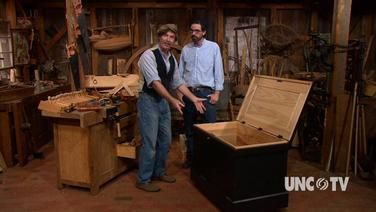 Christopher Schwartz Gives Roy Underhill A Guided Tour Of His Anarchist S Tool Chest Via The Woodwrights Shop Woodworking Tools Woodworking Jigs Woodworking