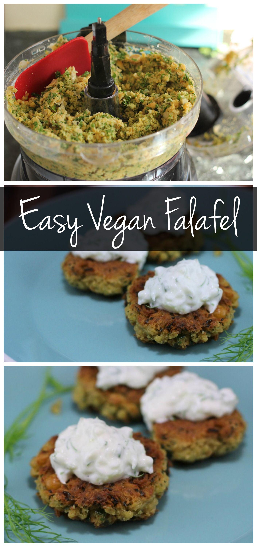 Easy falafel recipe vegan falafel recipe falafel recipe and easy falafel vegan falafel recipevegan foodvegan dishesfood processor recipesvegetarian dinnersvegetarian forumfinder Images