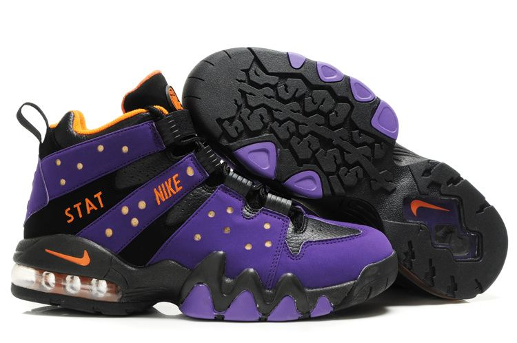 Black · Nike Air Max2 CB 94 Purple/Black/Orange - Charles Barkley Shoes