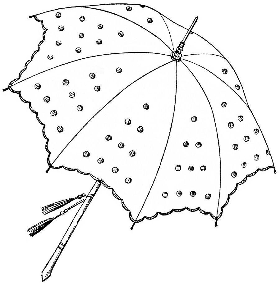 olddesignshop parasol1912 1 public domain art and free vintage
