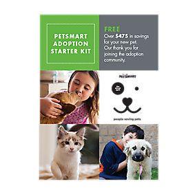 Petsmart Adoption Starter Kit Adoption