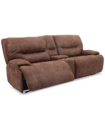 Astonishing Felyx 97 3 Pc Fabric Power Reclining Sofa With 2 Power Machost Co Dining Chair Design Ideas Machostcouk