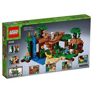Lego Minecraft The Jungle Tree House 21125 Lego Minecraft Lego