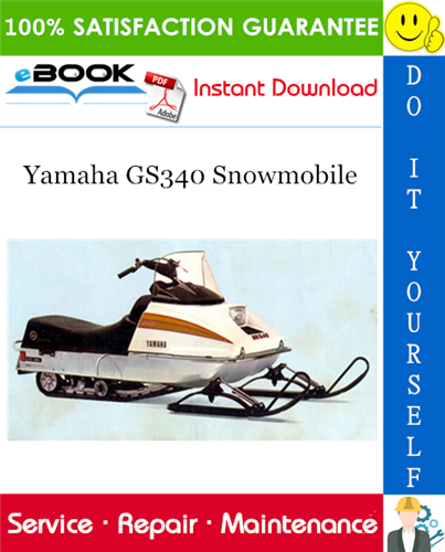 Yamaha Gs340 Snowmobile Service Repair Manual Repair Manuals Yamaha Repair
