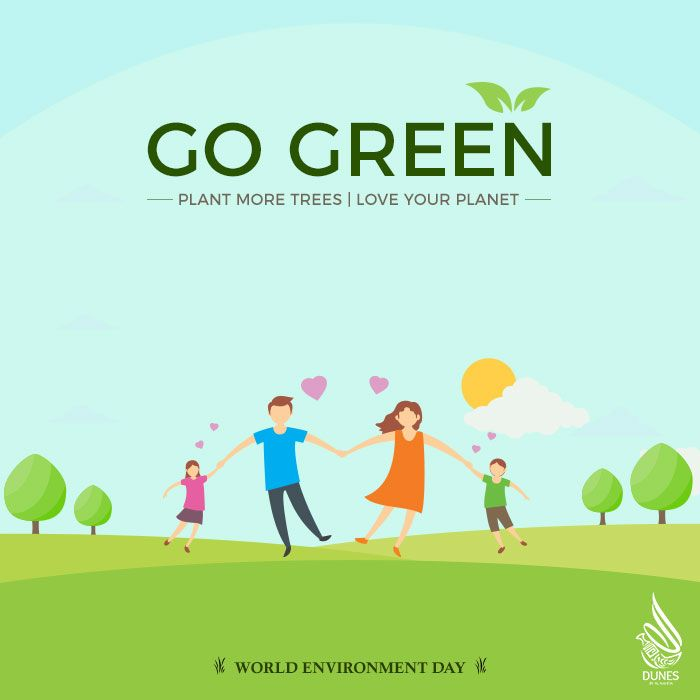 how to make our earth clean and green