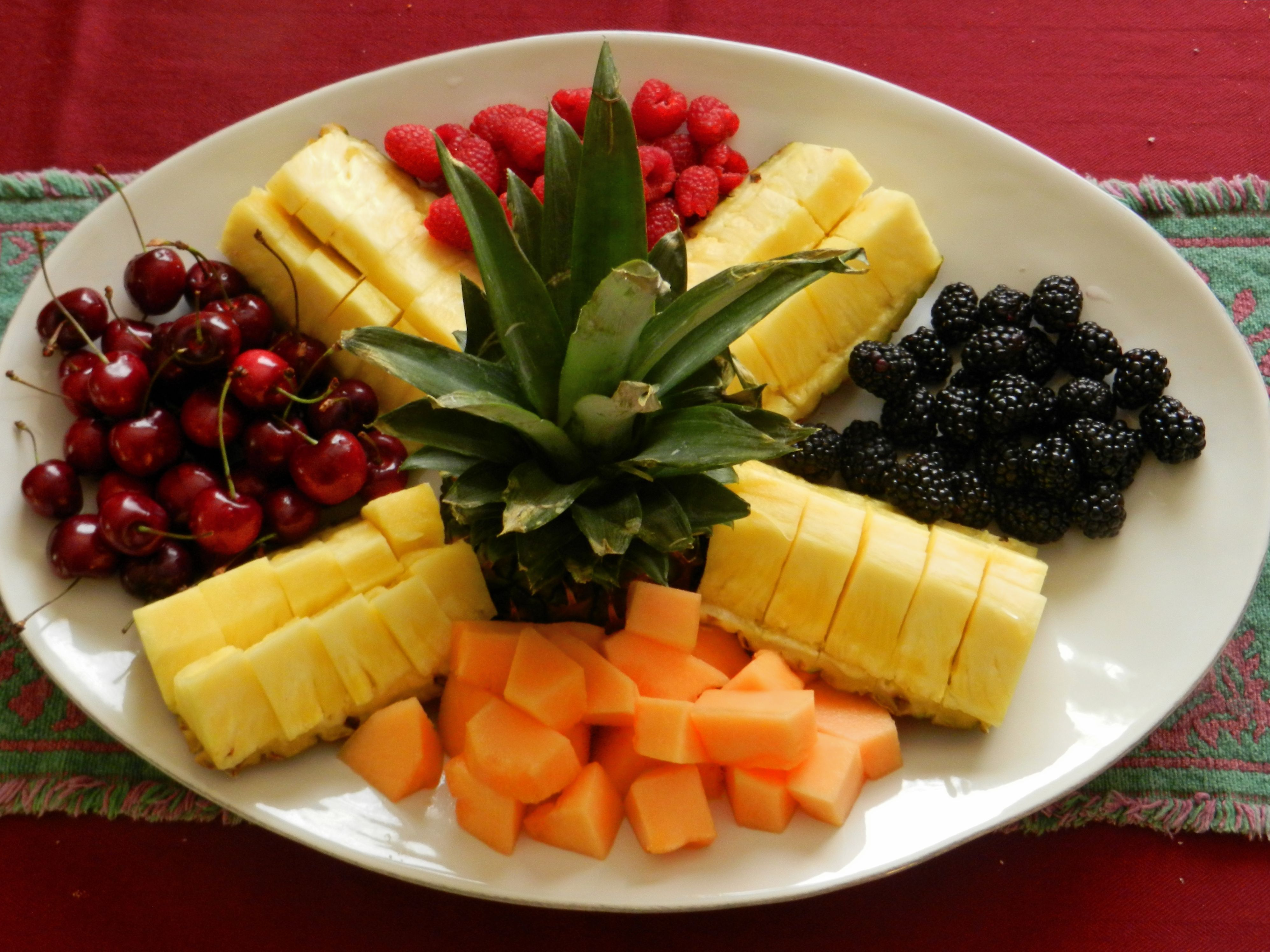 Christmas Fruit Decorations Part - 50: EASY RECIPES CHRISTMAS FRUIT PLATTER | EASY RECIPES AND STUFF
