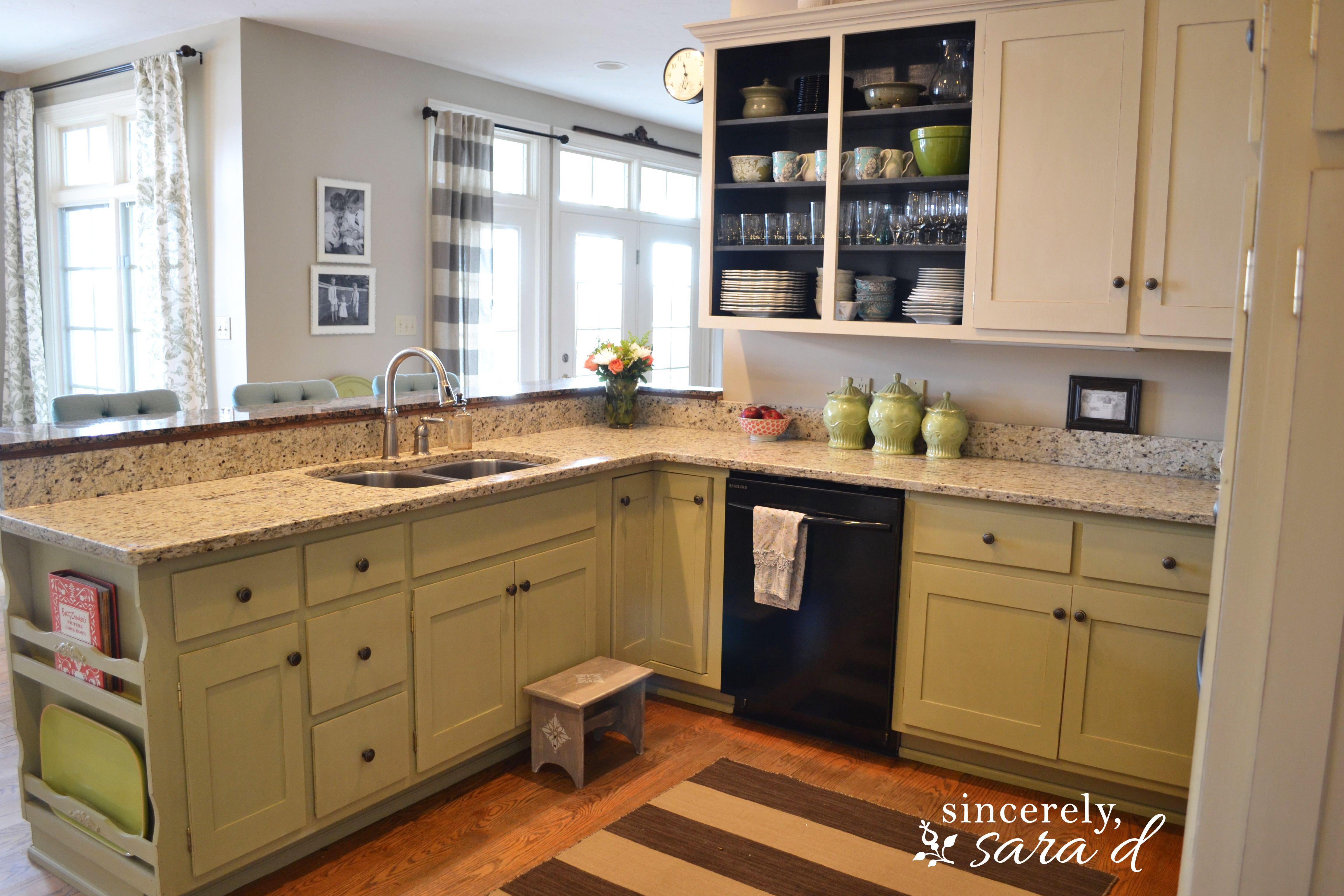 Kitchen Cabinet Color   Sincerely, Sara D.   Home Decor & DIY ...