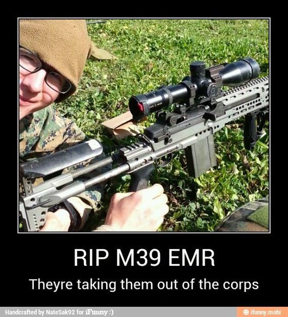 RIP M39 EMR | L♥VE | Usmc, Marine corps, Guns