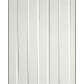 fashionwall 3/16-in x 4-ft x 8-ft white/satin hardboard