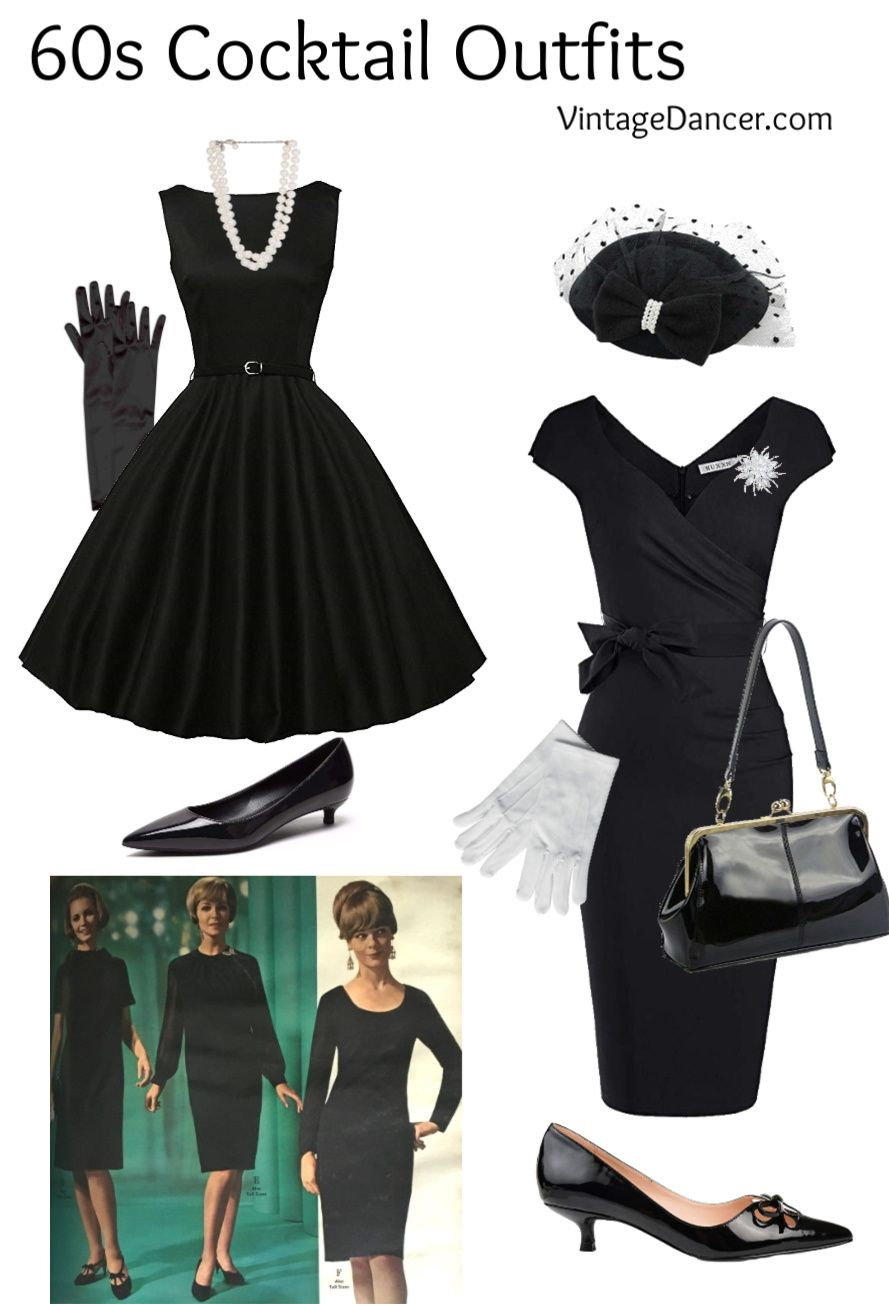 1960s Outfit Ideas Mod Hippie Casual Housewife Party Cocktail Outfit 1960s Outfit Ideas Party Outfit [ 1304 x 889 Pixel ]