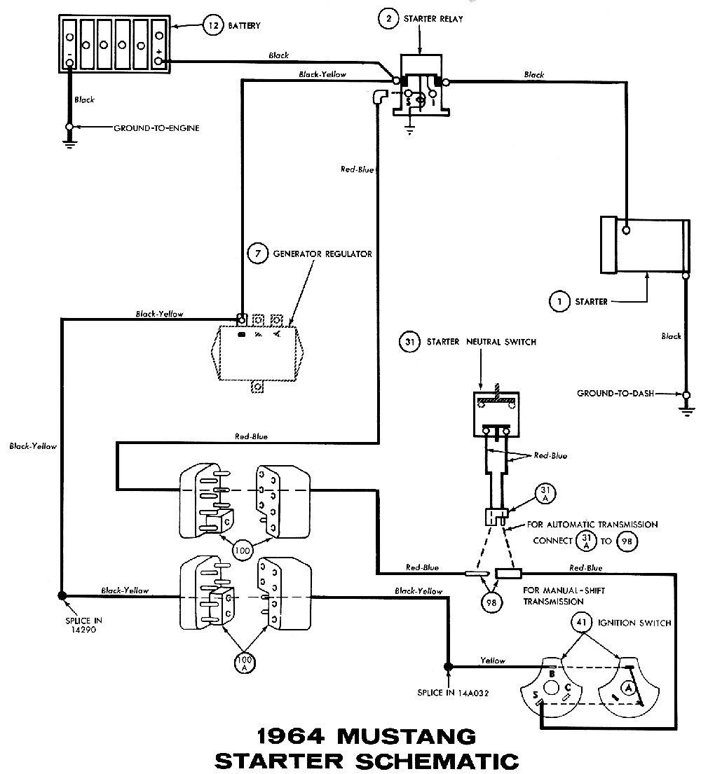 65 mustang starter wiring diagram Yahoo Image Search