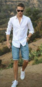 0392c4d9751 Ιδέες για Μοντέρνο Ανδρικό Ντύσιμο με Βερμούδα! | Ανδρική Μόδα ...