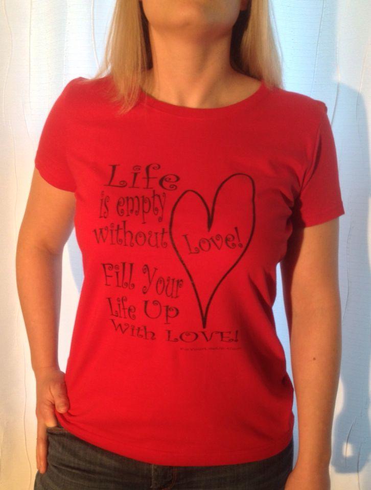 Love-Women's t-shirt from fillyourlifeup.com