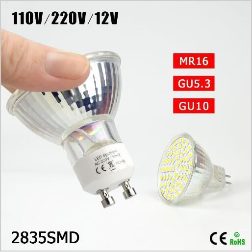 Best Selling Engergy Class A 7w 12v 220v 110v Gu10 Mr16 Gu5 3 Led Lamp Heat Resistant Glass Body 2835smd 60 Led S Led Bulb Led Spotlight Heat Resistant Glass