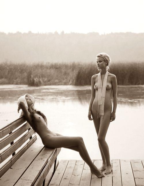 Erotic beach photography