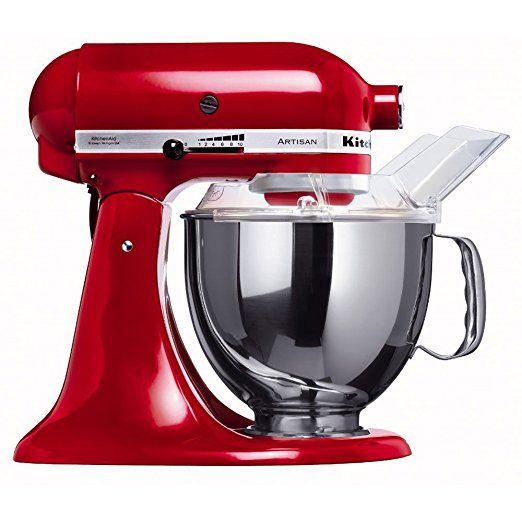 rot artisan kitchenaid küchenmaschine
