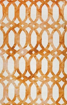 Dip Dyed DD01 Stained Glass Trellis Rug