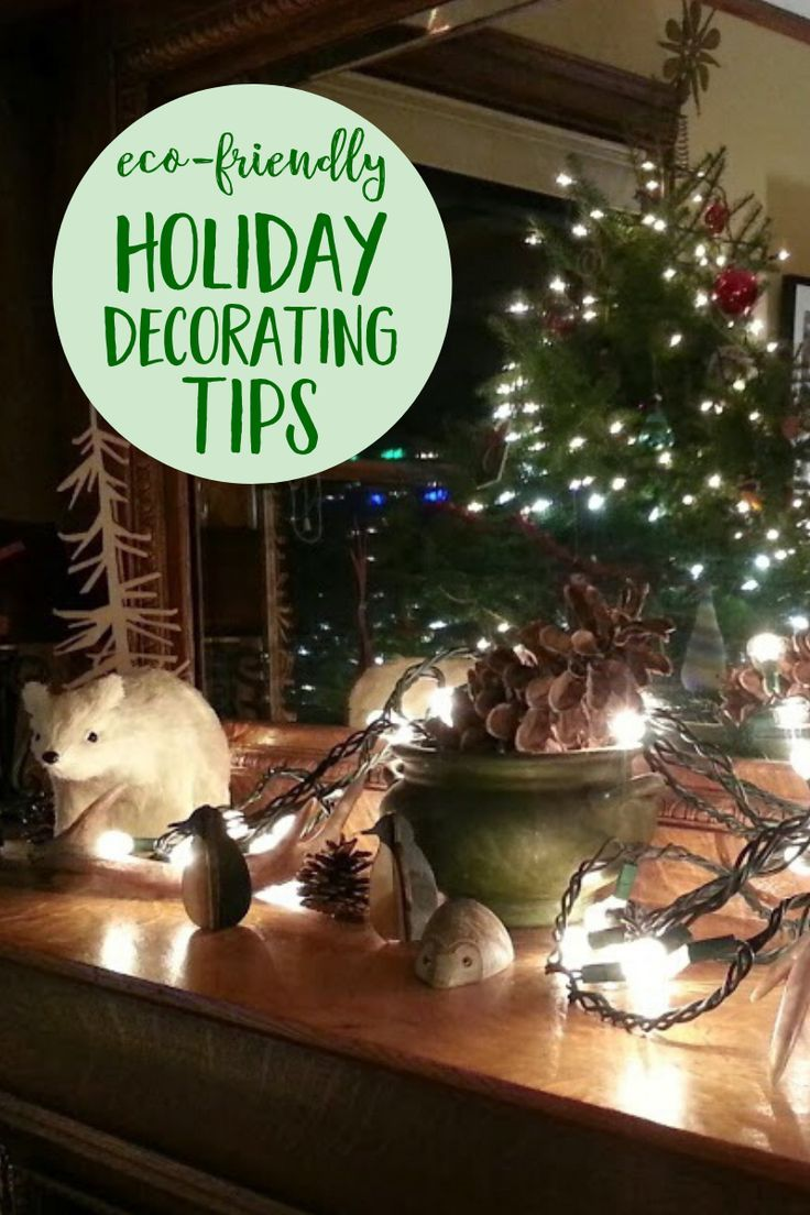 Eco Friendly Holiday Decorating That Won't Trash The ...