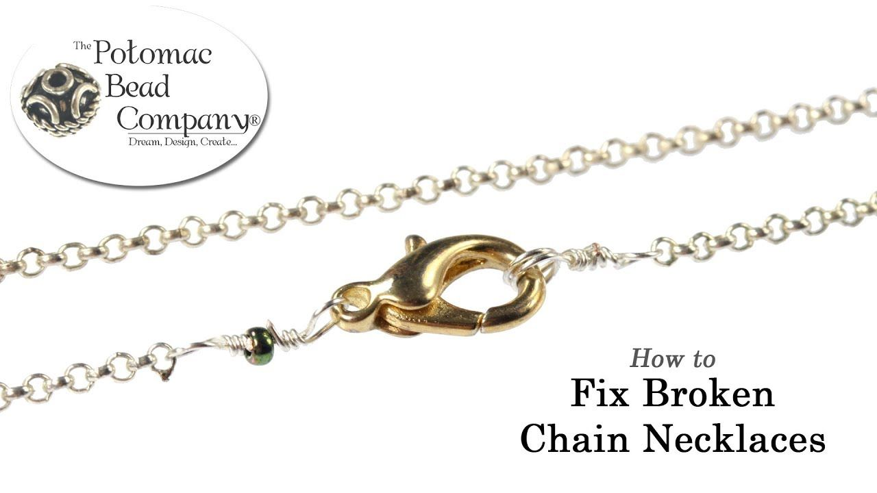 How to Fix Broken Chain Necklaces jpg (With images