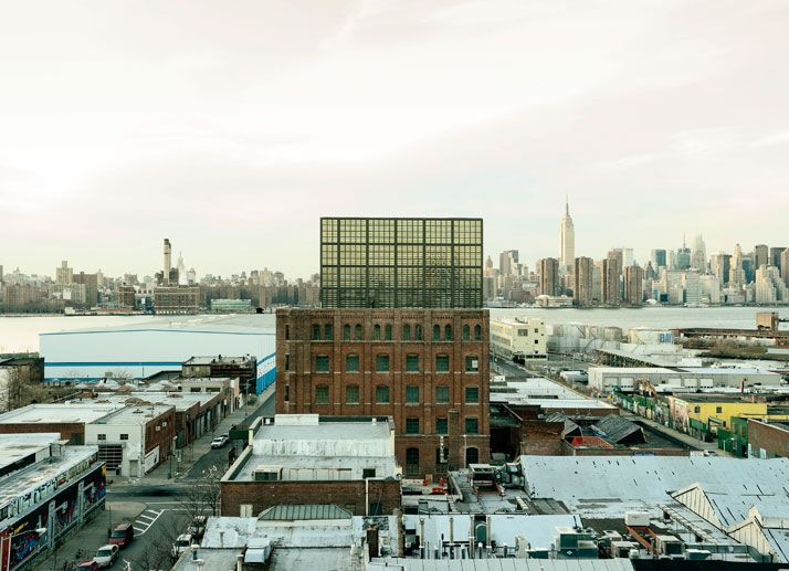 A Textile Factory Is Converted Into The Wythe Hotel In Williamsburg Brooklyn Ny