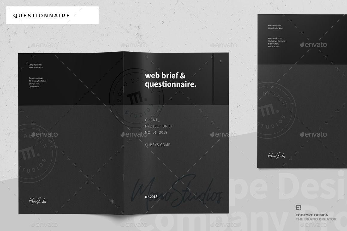 Questionnaire Web Design Portfolio Template Design Invoice Design Web Design