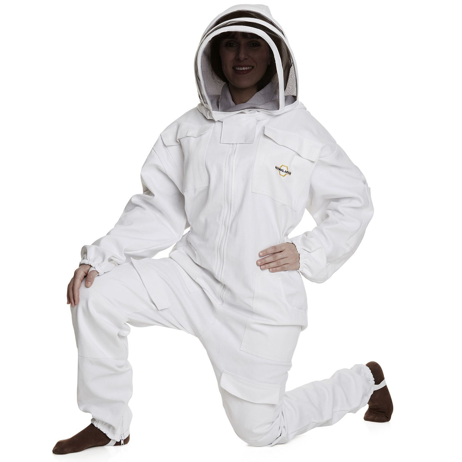 apiarist beekeeping suit polycotton total protection