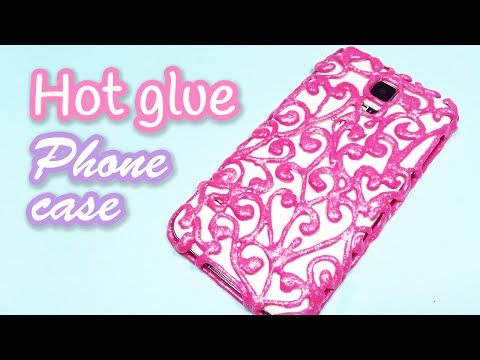 low priced 47c89 b54bc She Covers Her Phone In Wax Paper And Then Puts Hot Glue All Over It ...