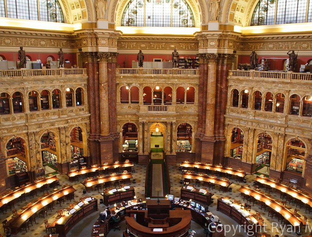 Library Of Congress Main Reading Room Interior Of The Main Reading Room Of The Library Of Congre Reading Room Public Library Architecture Library Of Congress