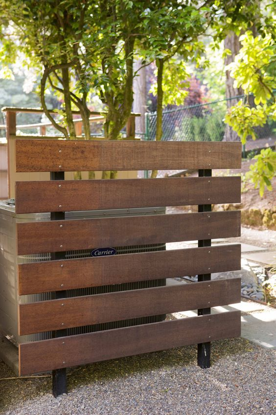1 Sided Condenser Barrier Cover Water features in the