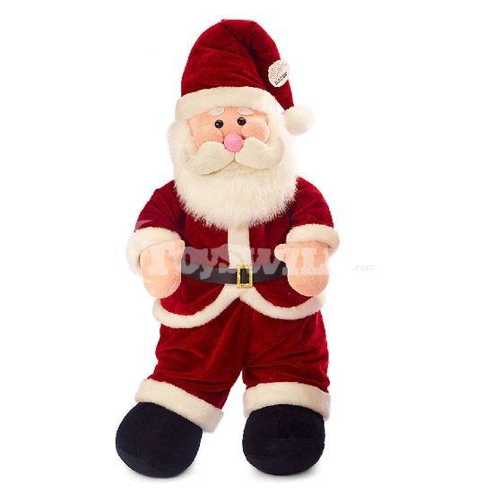 pretty christmas gifts classic santa claus plush toy decoration95cm - Stuffed Santa Claus