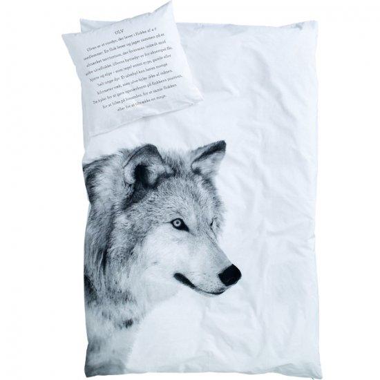 By Nord  stoer dekbed overtrek  wolf  NEST  Dekbed