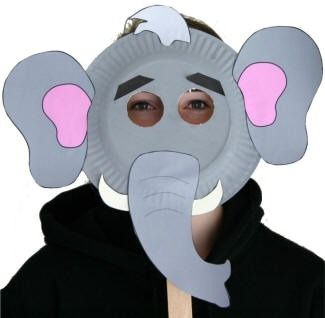 elephant mask for The Wrong Book simultaneous read.  sc 1 st  Pinterest & Google Image Result for http://www.dltk-kids.com/animals/image/s ...
